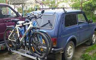 Крепление для велосипеда на машину своими руками