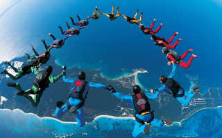 3 разряд по парашютному спорту
