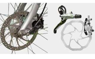 Как переделать тормоза на велосипеде на дисковые