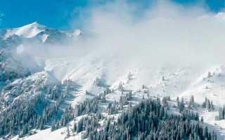 Чимбулак высота над уровнем моря
