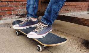 Простые трюки на скейте