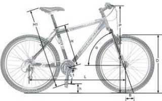 Как измерить размер рамы велосипеда рулеткой