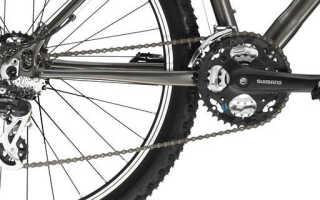 Как поставить цепь на скоростной велосипед