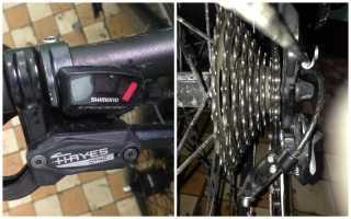 Ремонт заднего переключателя скоростей на велосипеде