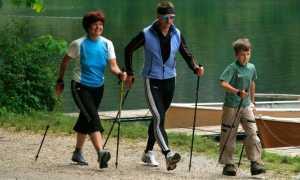 Правила ходьбы со скандинавскими палками