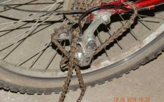 Почему слетает цепь на скоростном велосипеде