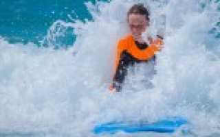 Русская школа серфинга в португалии