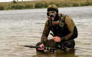 Фонарь для подводной охоты в мутной воде