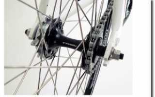 Как собрать заднее колесо скоростного велосипеда