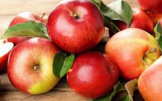 Химический состав яблока
