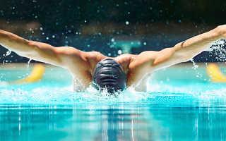 Стиль плавания дельфин