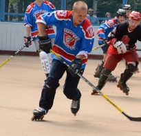 Хоккей с мячом на роликах