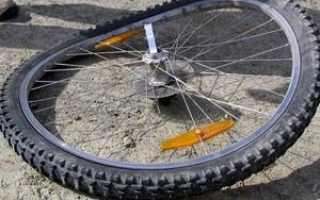 Как выровнять восьмерку на колесе велосипеда