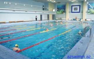 Правила плавания в бассейне