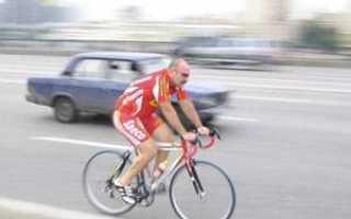 Пдд движение велосипедистов по проезжей части