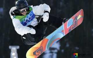 Вид спорта сноуборд