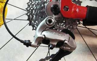 Настройка переключения передач на велосипеде