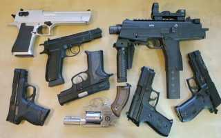 Пружинные страйкбольные пистолеты