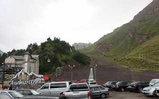 Азау канатная дорога