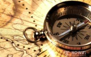 Направления света по компасу
