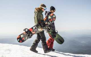 Лучшие доски для сноуборда