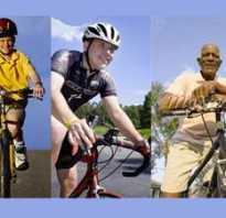 Как научить взрослого кататься на велосипеде