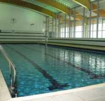 Температура в бассейне
