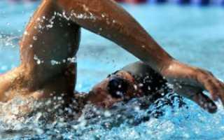 Плавать кролем техника