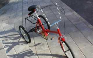 Как сделать трехколесный велосипед из двухколесного