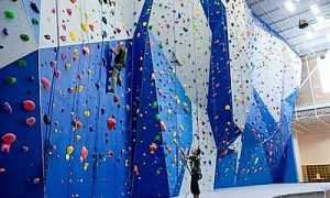 Стена для скалолазания