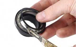 Как смазать закрытый подшипник без разборки
