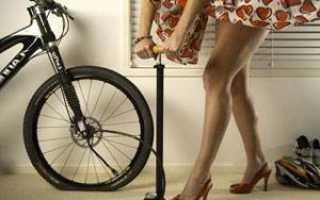 Какое давление должно быть в колесах велосипеда