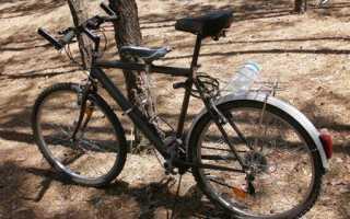 Детское кресло для велосипеда своими руками