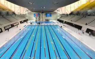 Температура воды в олимпийском бассейне