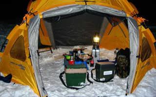 Походный обогреватель для палатки