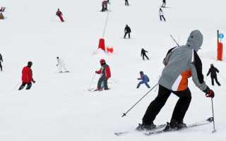 Горные лыжи для начинающих