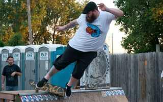 Как правильно стоять на скейтборде