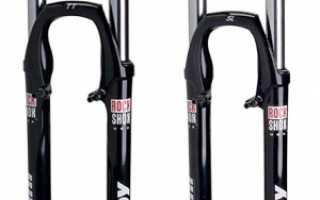 Как смазать передние амортизаторы на велосипеде