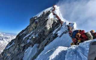 Сколько погибло на эвересте