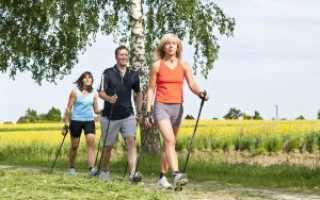 Как правильно ходить с скандинавскими палками