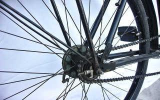 Как подтянуть цепь на скоростном велосипеде