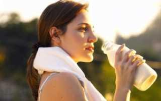 Можно ли пить кефир после тренировки