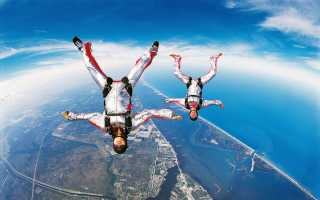 Прыжки с парашютом неудачные